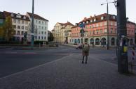 Wielandplatz vom Torhaus aus