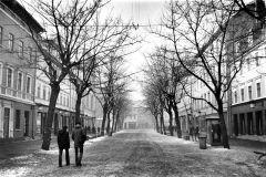 Schillerstraße im Winter