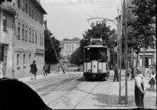 Straßenbahn am Graben
