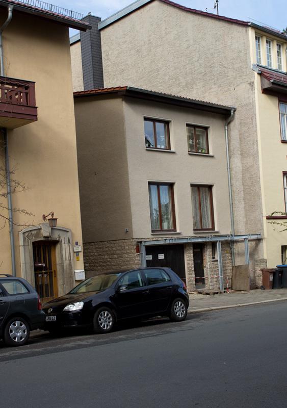 Lückenfüller in der Cranachstraße, 1986-11-00