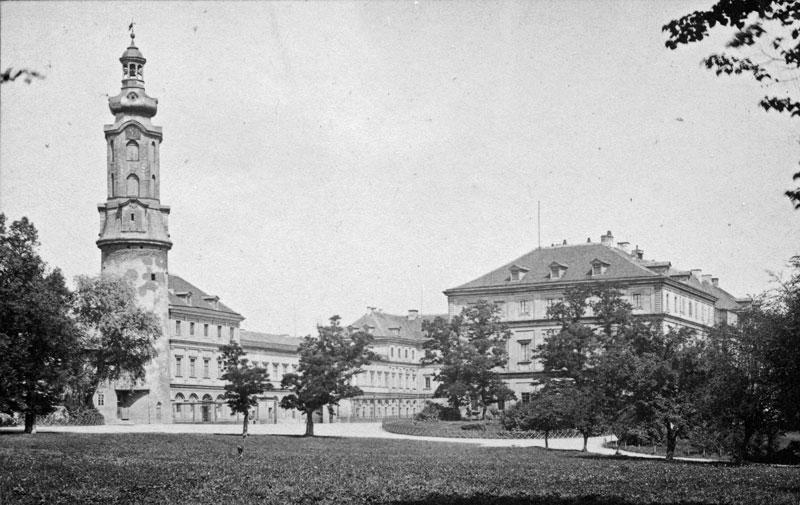 Stadtschloss und Reithauswiese, 2018-08-22