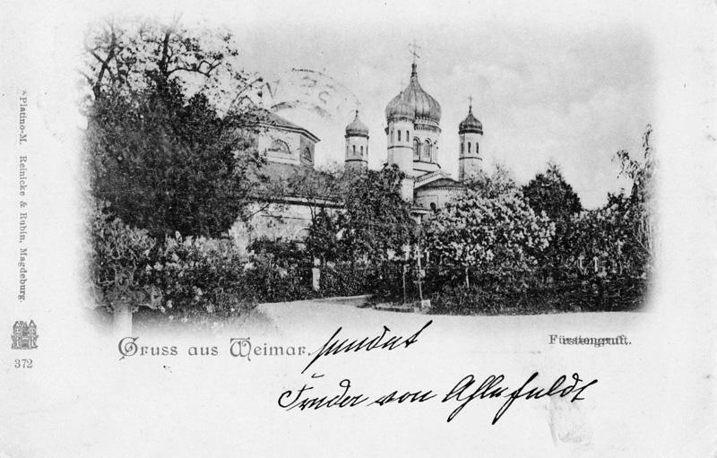 Fürstengruft und Russisch-Orthodoxe Kapelle, 2018-02-01