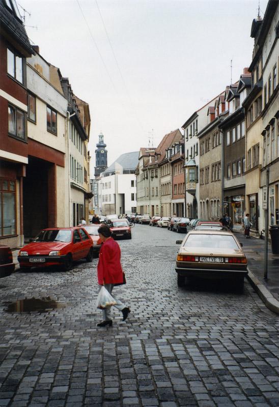 Marktstraße mit Schlossturm, 2012-04-16