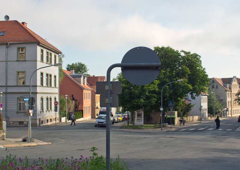 Humboldtstraße, Ecke Cranachstraße, 1982-08-00