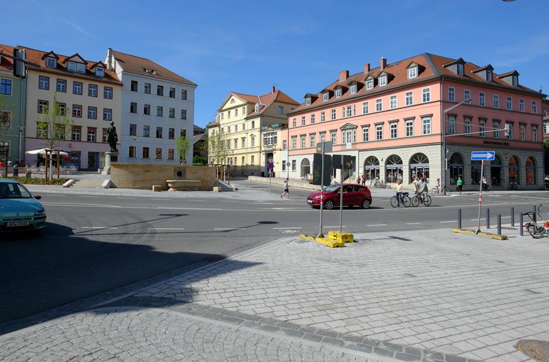 Wielandplatz vom Torhaus aus, 2012-10-19