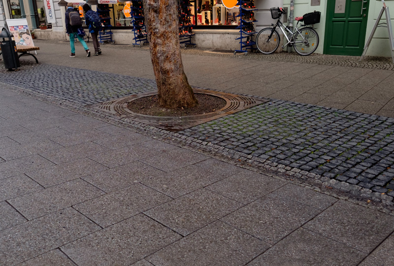 Blindgänger auf der Schillerstraße, 1945-02-00
