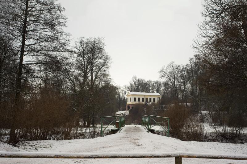 Das Römische Haus hinter der Duxbrücke, 1983-01-00