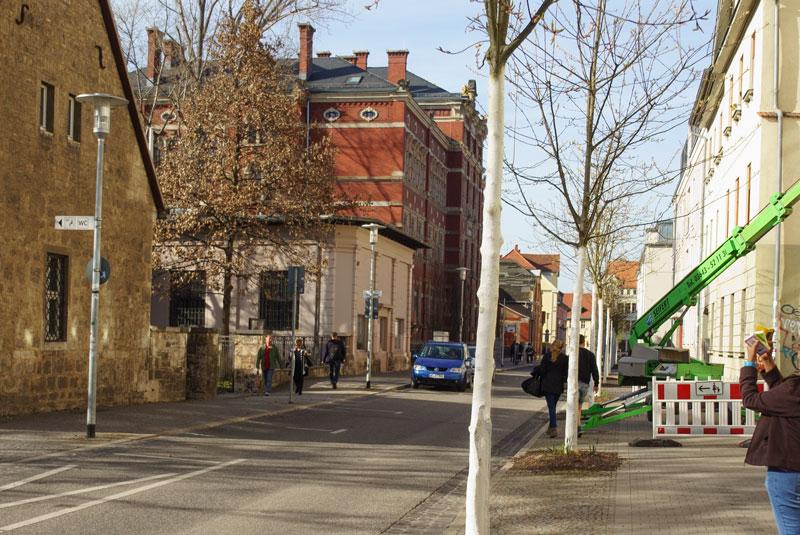 Amalienstraße, 1945-02-09