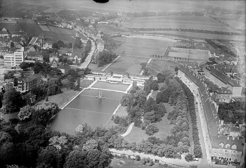 Schwanseebad und Stadion, 2019-08-23